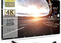 10 Best Projector Screen Black Friday & Cyber Monday Deals 2021